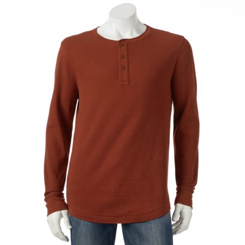 Men's SONOMA Goods for Life™ Solid Thermal Henley