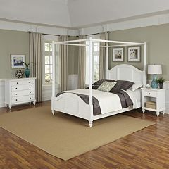 Home Styles 3-piece Bermuda Canopy Bedroom Set by