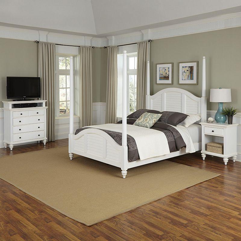 Home Styles Bermuda 3-piece Vertical Bedroom Set