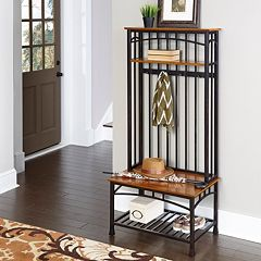 Home Styles Modern Craftsman Hall Tree by