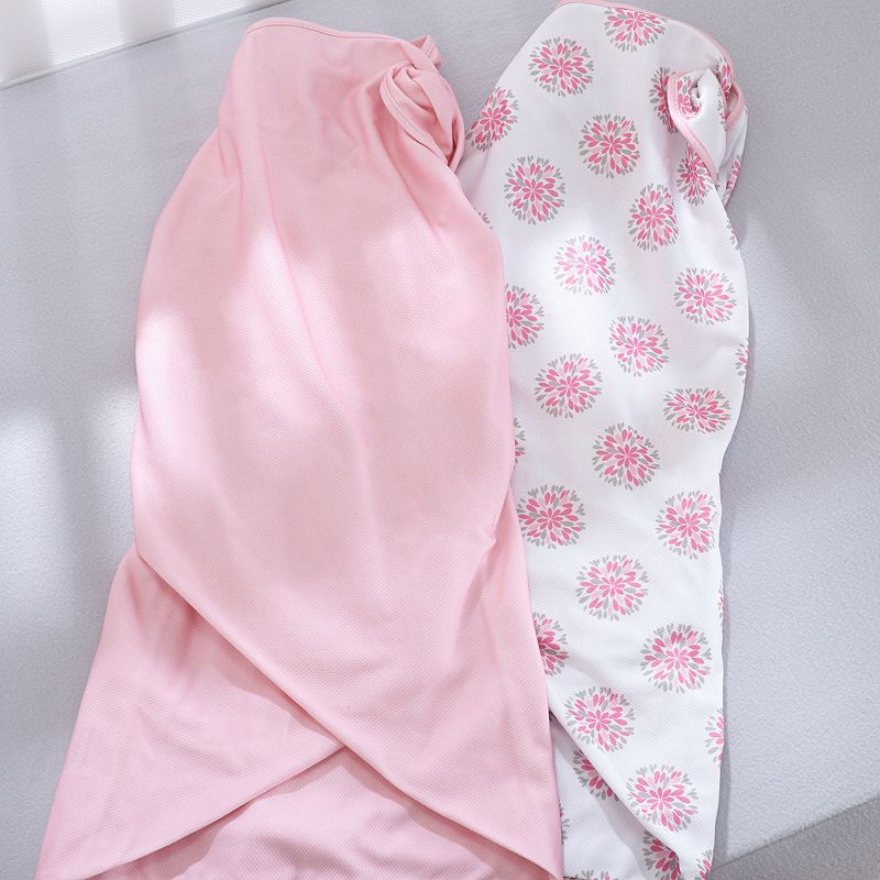 Breathable Baby Dahlia 2-pk. Swaddle Blankets - Baby Girl