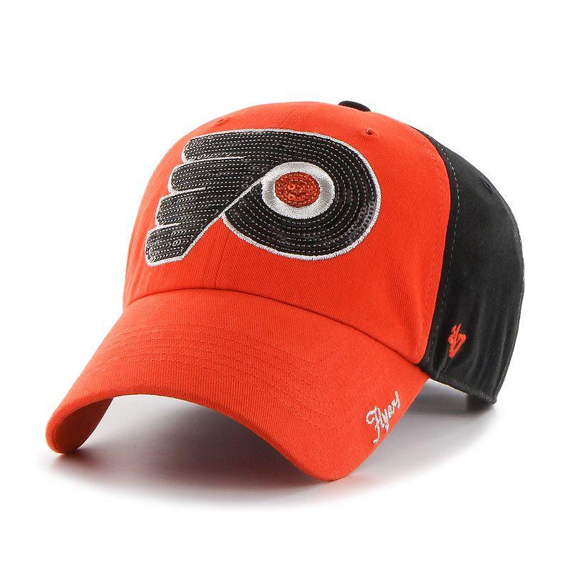 '47 Brand Philadelphia Flyers Sparkle Adjustable Cap - Women's