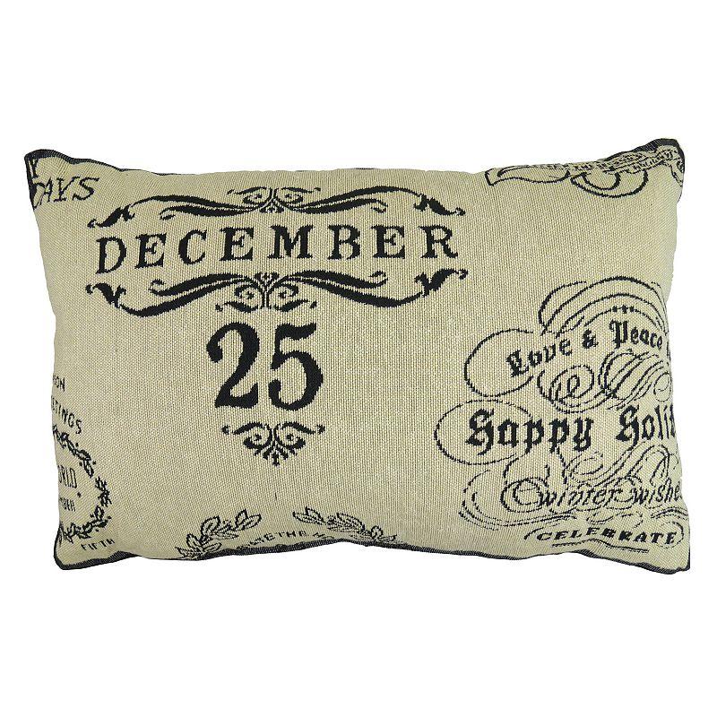christmas throw pillow kohl s