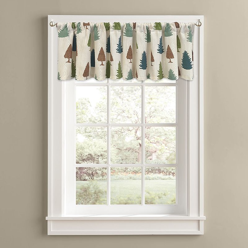 Colordrift Forest Pine Valance - 60'' x 14''