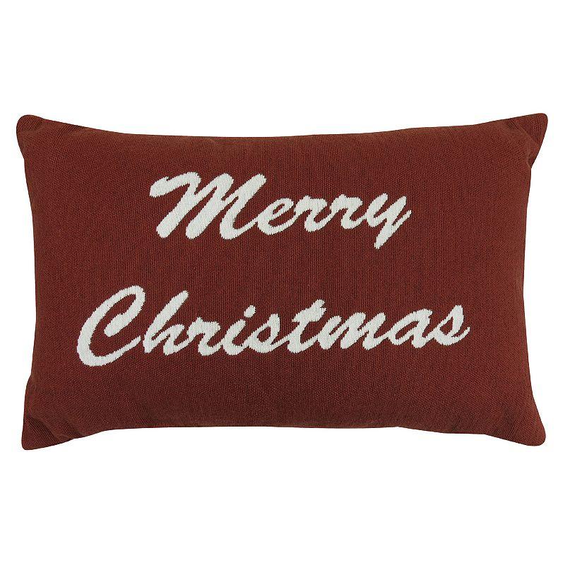 Christmas Throw Pillows From Kohls : Elegant Polyester Pillow Kohl s
