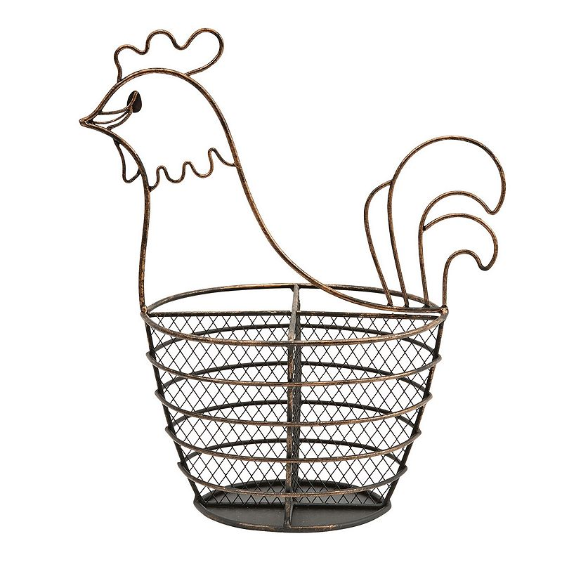 Boston Warehouse Rooster Flatware Caddy