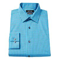 Men's Apt. 9 ® Slim-Fit Plaid Stretch Dress Shirt