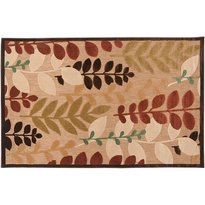 Artisan Weaver Clarkston Leaf Indoor Outdoor Rug