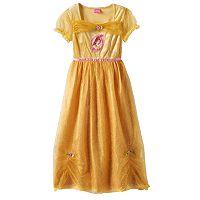 Disney's Belle Dress-Up Nightgown - Girls 4-8