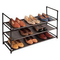 Richards Homewares 3-Tier Shoe Rack