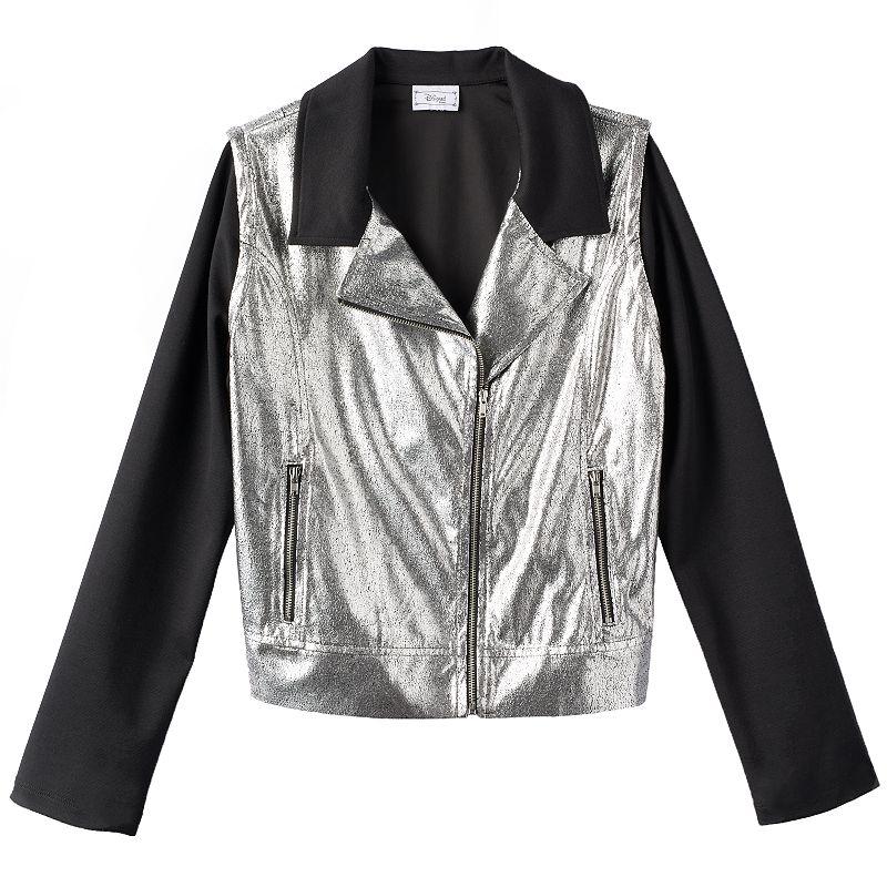 Disney D-Signed Disney's Descendants Metallic Moto Jacket - Girls 7-16