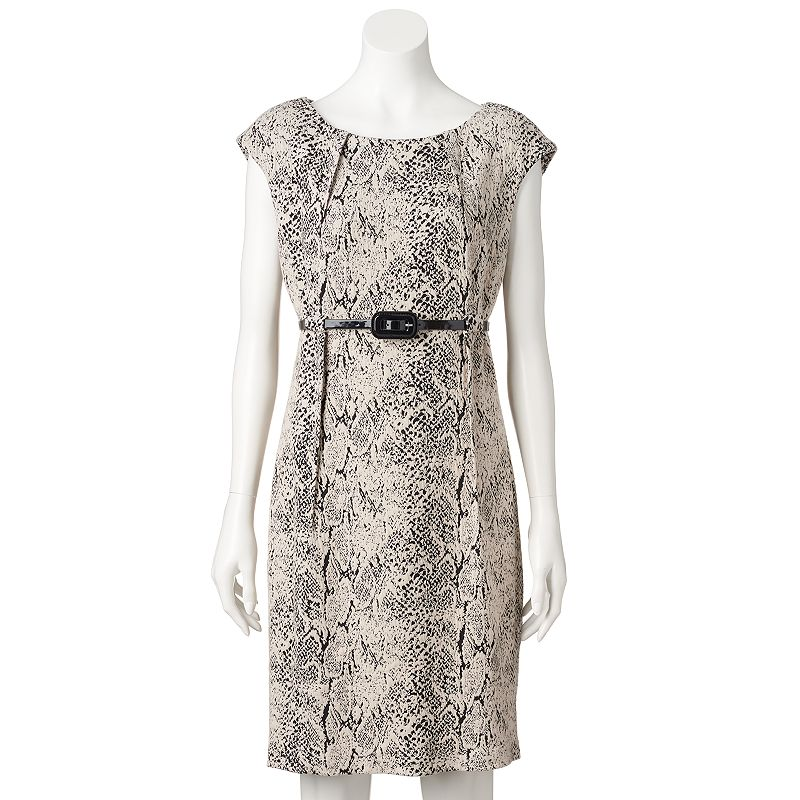 Women's Dana Buchman Snakeskin Sheath Dress