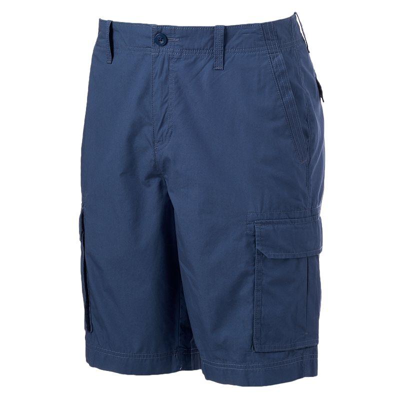 Men's Apt. 9 Solid Poplin Cargo Shorts