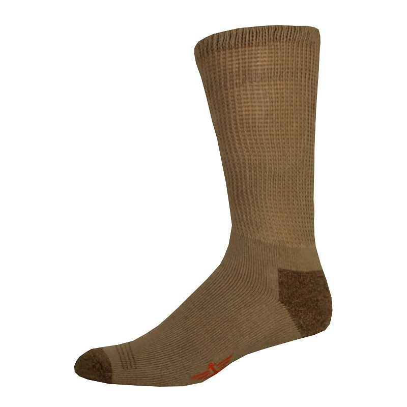 Big & Tall Dockers® Non-Binding Casual Crew Socks