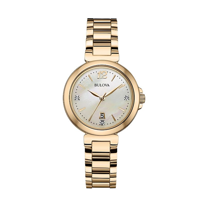 Bulova Women's Crystal Stainless Steel - 97P110