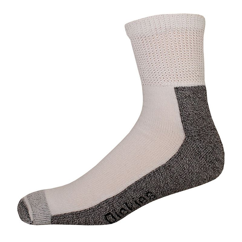Men's Dickies 2-pack Steel Toe Non-Binding Quarter Socks