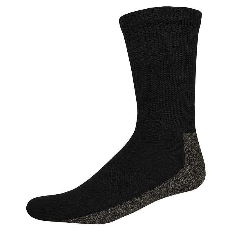 Men's Dickies 2-pack Steel Toe Non-Binding Crew Socks
