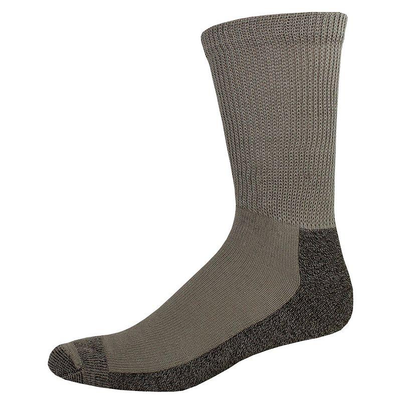 Men's Dickies 2-pack Steel Toe Non-Binding Crew Socks