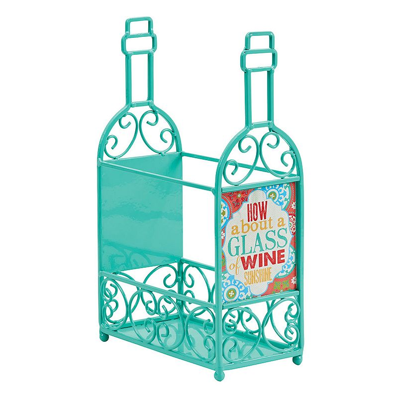 Boston Warehouse ''How About A Glass'' Wine Rack