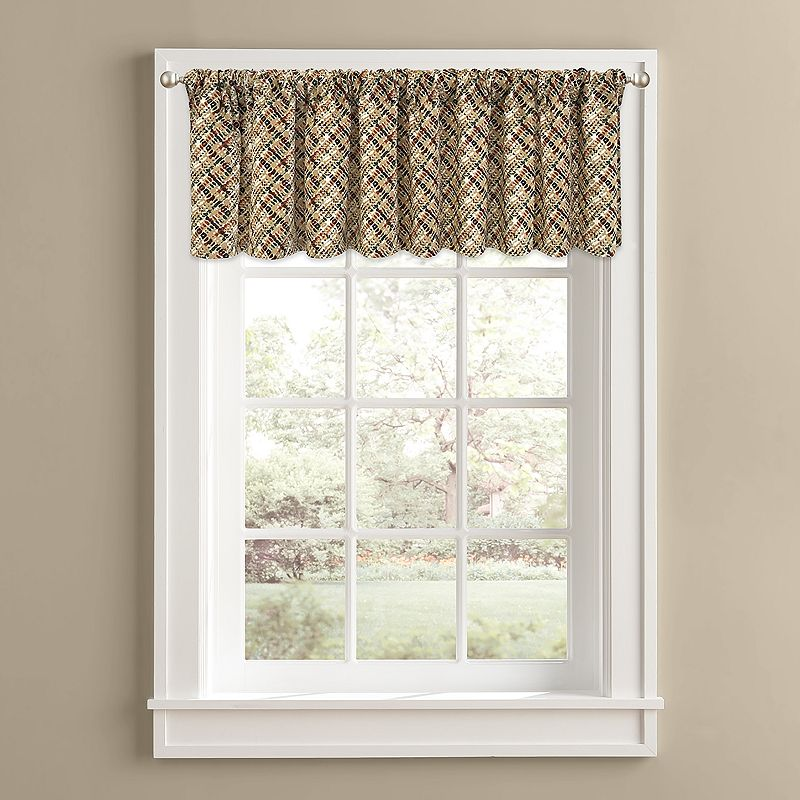 Colordrift Cabin Fever Valance - 60'' x 14''