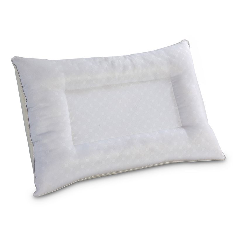 Sealy Hydraluxe Gel Memory Foam & Fiber Reversible Pillow
