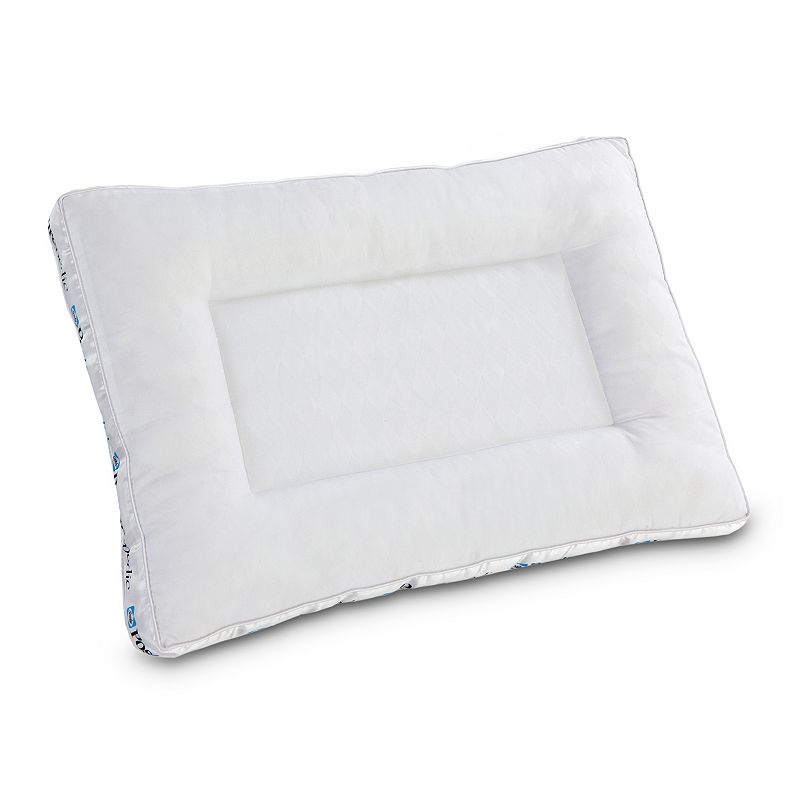 Sealy Posturepedic Hybrid Hydraluxe Gel Memory Foam & Fiber Reversible Pillow