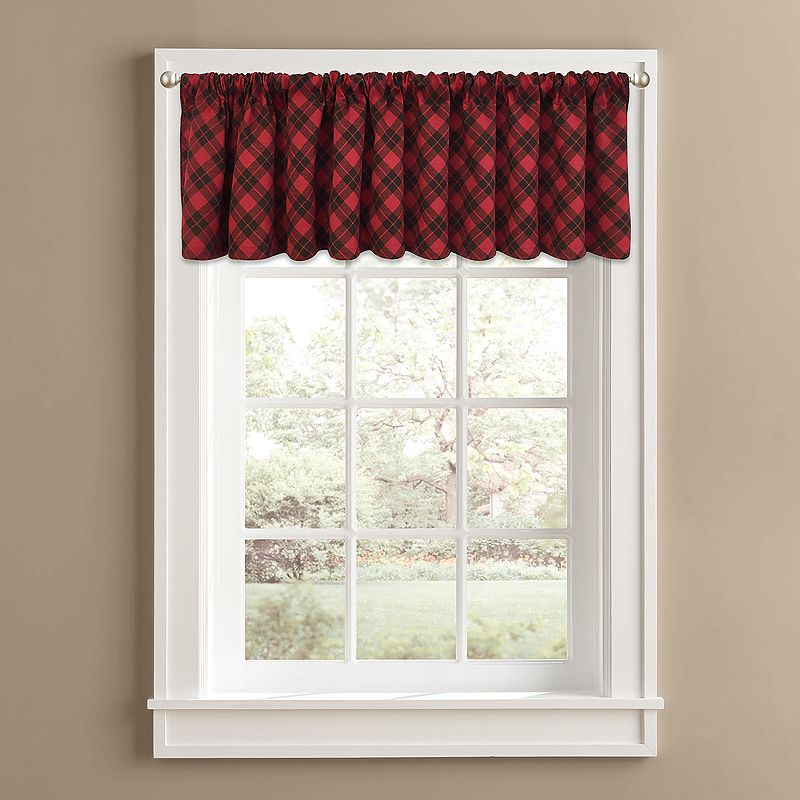 Colordrift Ranger Plaid Valance - 60'' x 14''