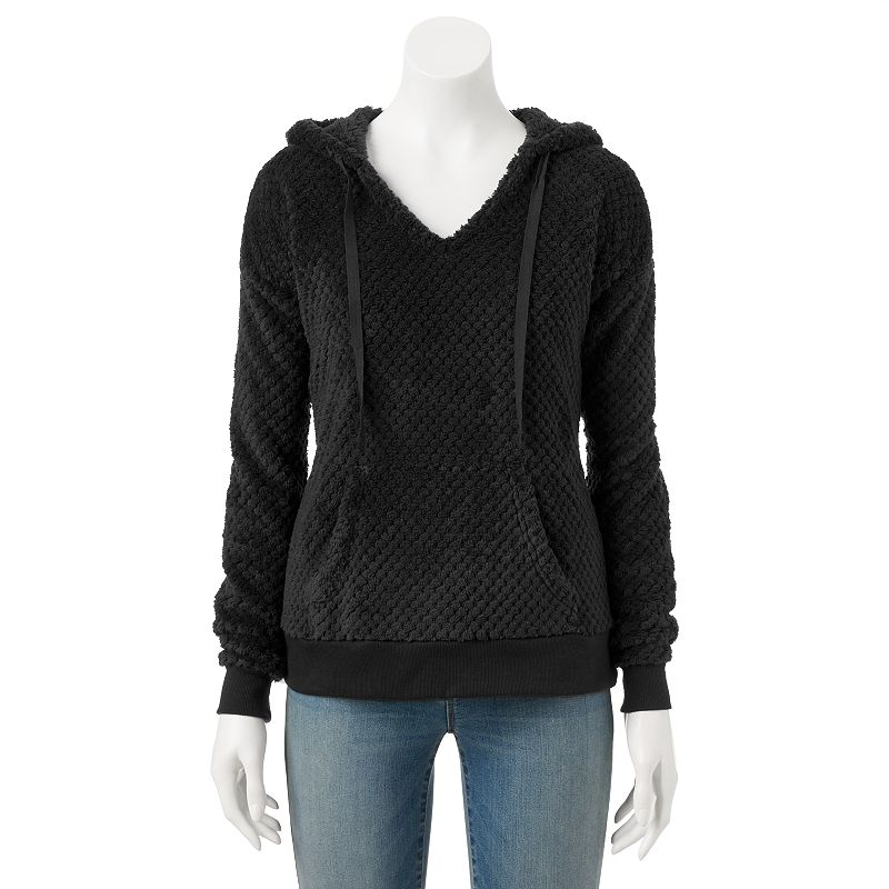 SONOMA Goods for Life™ Sherpa Hooded Sweater - Women's