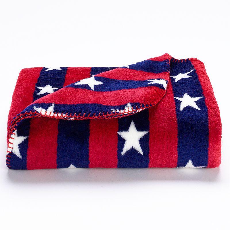 Denali Single Plush Knit Throw