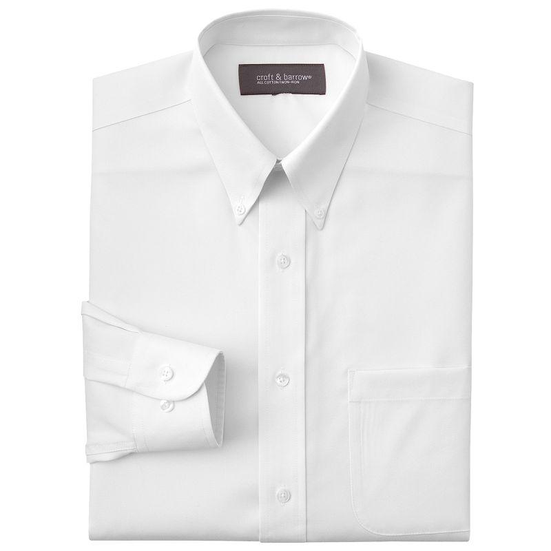 Men's Croft & Barrow® Classic-Fit Dress Shirt