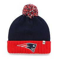 Youth '47 Brand New England Patriots Dunston Knit Beanie