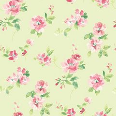 Brewster Home Fashions Captiva Floral Toss Wallpaper by