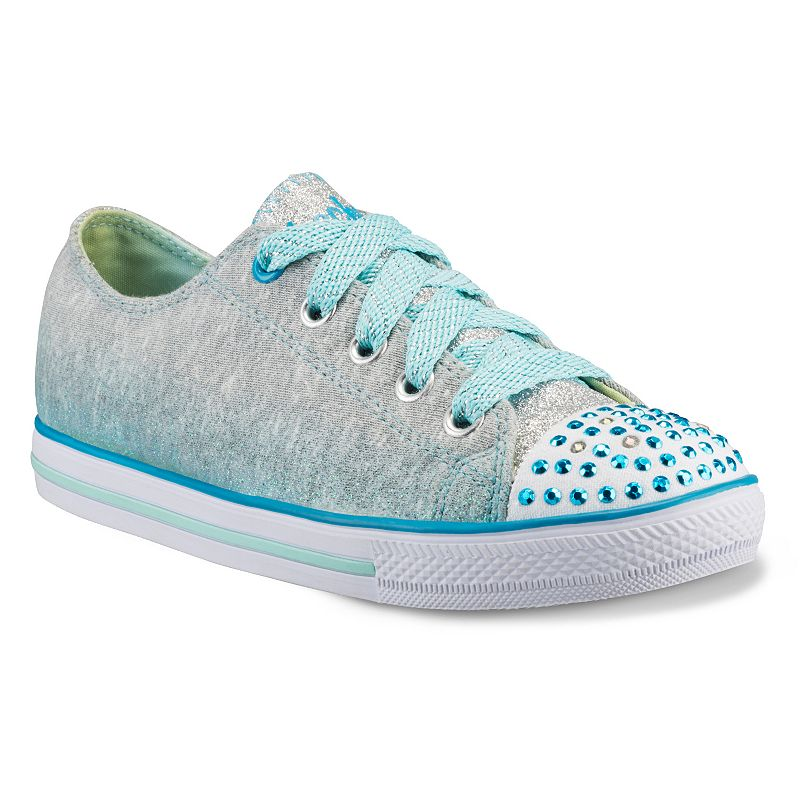 Skechers Twinkle Toes Chit Chat Sweet Surprise Girls' Light-Up Sneakers