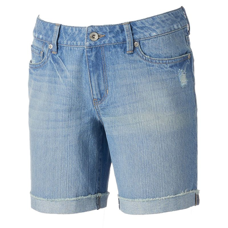 Women's SONOMA Goods for Life™ Frayed Boyfriend Shorts