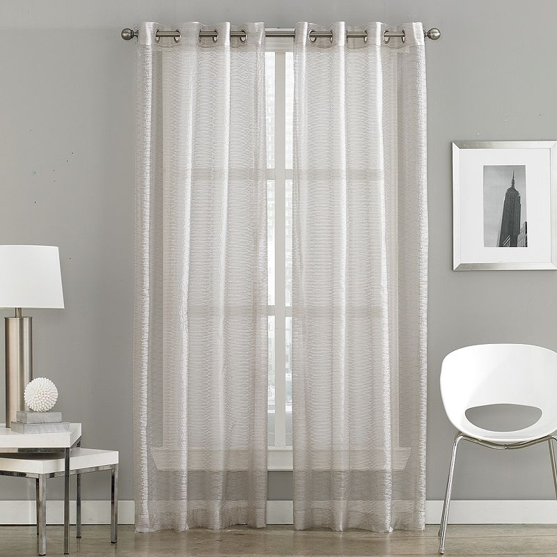 Peri Milos Sheer Curtain - 50'' x 84''