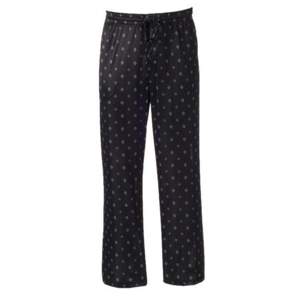 Big & Tall Croft & Barrow® Patterned Knit Lounge Pants