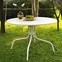 Crosley Outdoor 40-in. Griffith Metal Dining Table