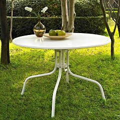 Crosley Outdoor 40-in. Griffith Metal Dining Table by