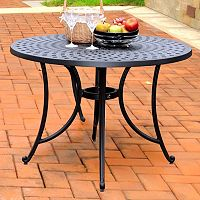 Crosley Outdoor 42-in. Sedona Cast Aluminum Dining Table