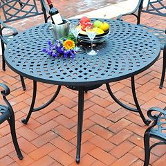 Crosley Outdoor 46-in. Sedona Cast Dining Table by