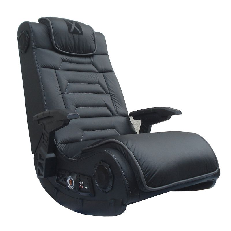 X-Rocker Pro Series H3 Wireless Sound & Vibration Gaming Chair, Black