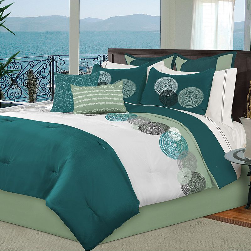 Modern Suites Baily 8-pc. Comforter Set