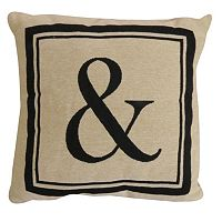 Vintage House by Park B. Smith Ampersand Throw Pillow
