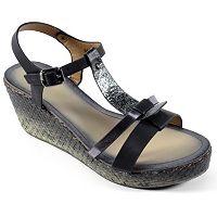 Corkys Basketweave Women's Wedge Sandals