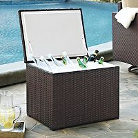 Crosley Outdoor Palm Harbor Outdoor Wicker Cooler