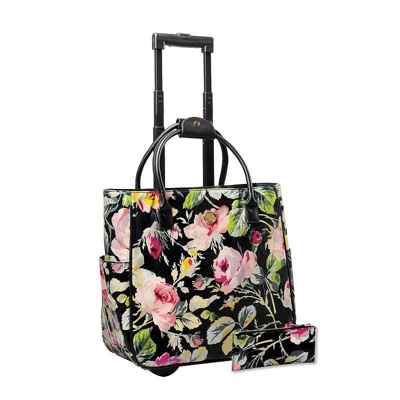 Anna Griffin 2-piece Grace Laptop Roller Bag & Pencil Case Set