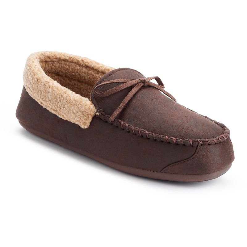 Dockers Aviator Men's Moccasin Slippers