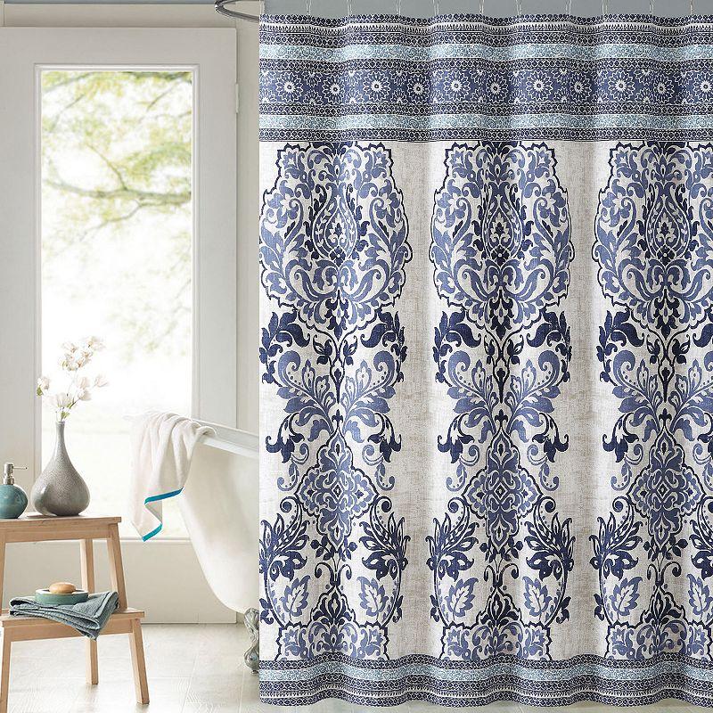 Victoria Classics Mariah Fabric Shower Curtain