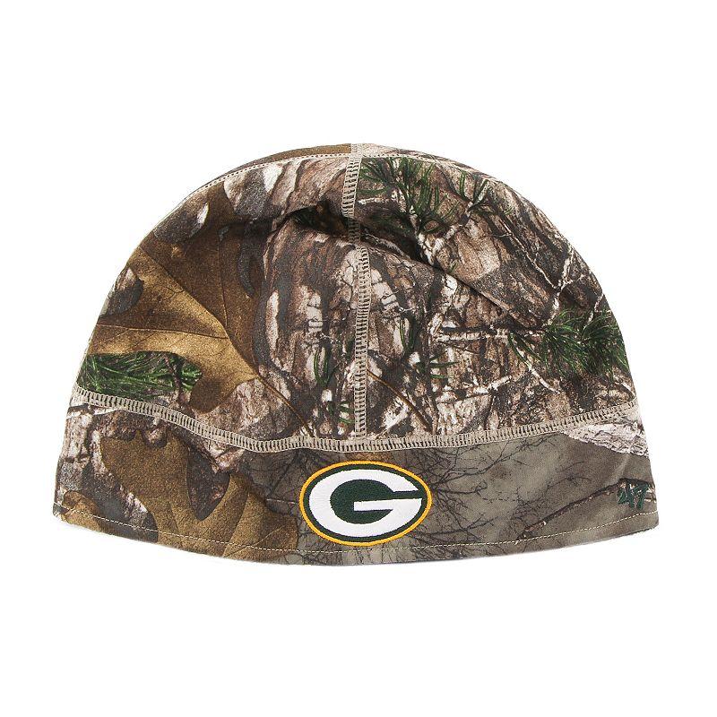 Adult '47 Brand Green Bay Packers Realtree Fleece Beanie