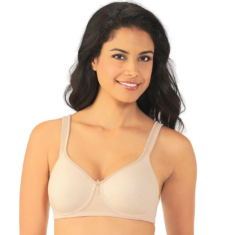 Vanity Fair Bra: Body Caress Lace Wire-Free Convertible Push-Up Bra 72336 - Women's